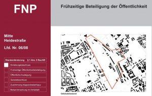 Flächennutzungsplan Berlin – Öffentlichkeitsbeteiligung Änderungsverfahren