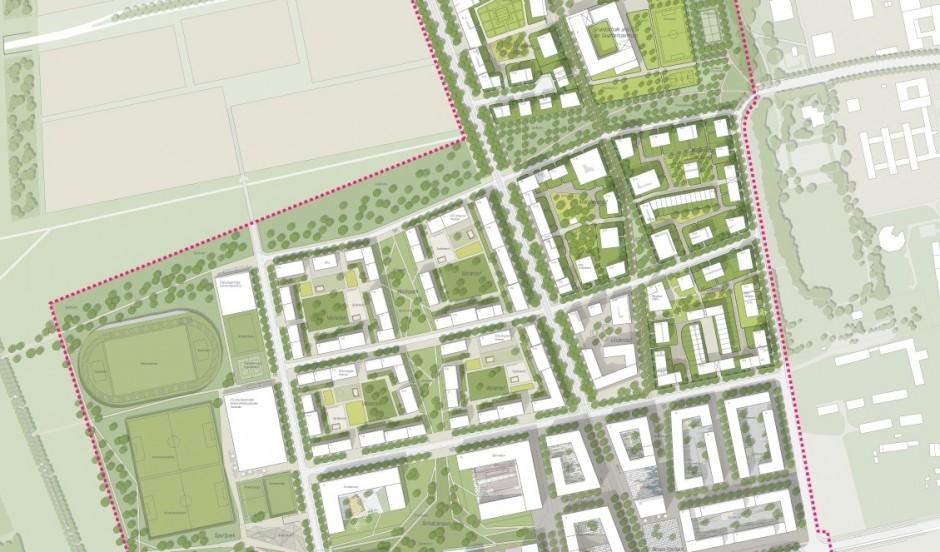 Rahmenplan Freiham Nord, 1. Realisierungsabschnitt