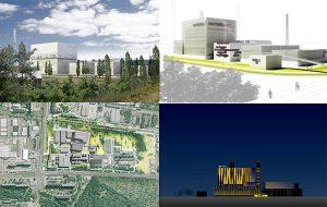 Wettbewerbsverfahren Gas- und Dampfheizkraftwerk Klingenberg