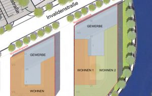 Architektur-Wettbewerb Humboldthafen Baufelder H3/H4