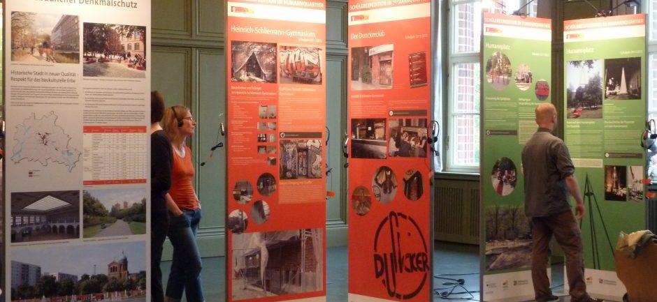 """Jährliche Ausstellung """"Schülerexpedition im Humannquartier"""""""