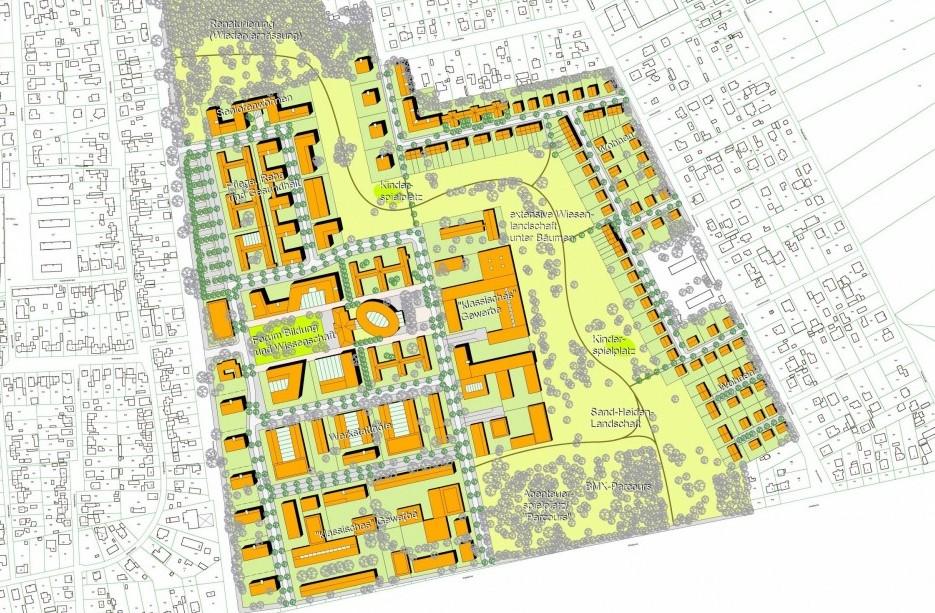 Städtebauliches Konzept Landespolizeischule Basdorf